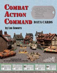 Combat Action Command Data Cards Cover